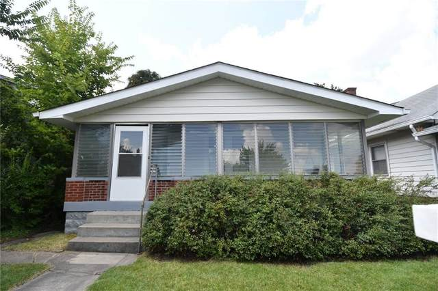 510 N Emerson Avenue, Indianapolis, IN 46219 (MLS #21806829) :: The Evelo Team
