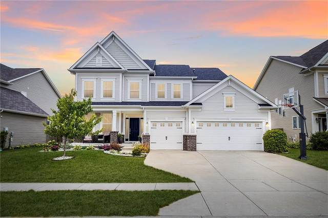 7826 Hedgehop Drive, Zionsville, IN 46077 (MLS #21806920) :: The Indy Property Source