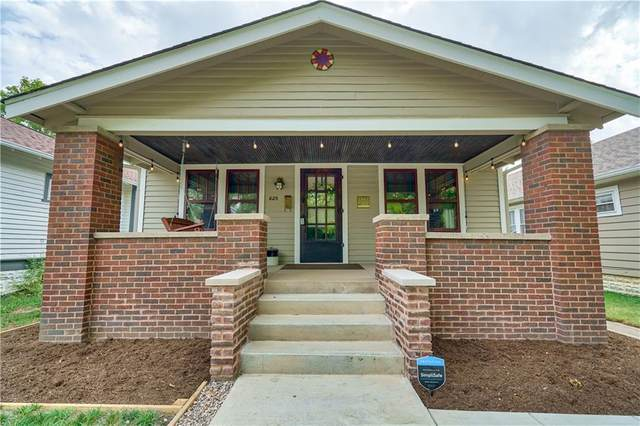 825 N Chester Avenue, Indianapolis, IN 46201 (MLS #21807980) :: The Indy Property Source