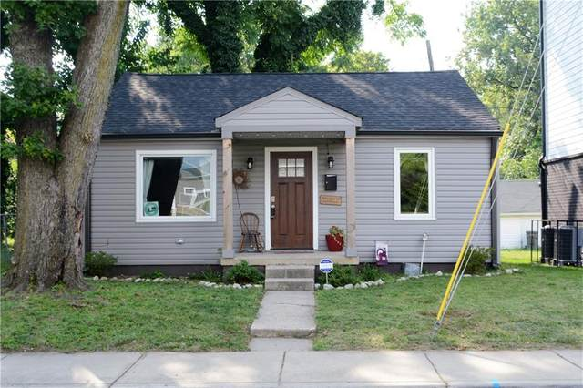 1016 Newman Street, Indianapolis, IN 46201 (MLS #21808094) :: AR/haus Group Realty