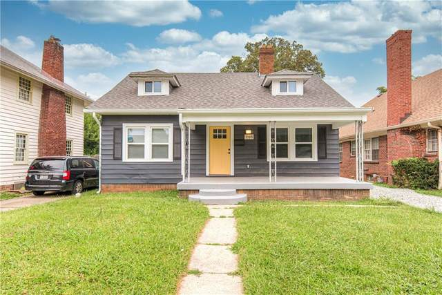 244 W 43rd Street, Indianapolis, IN 46208 (MLS #21808205) :: The Evelo Team