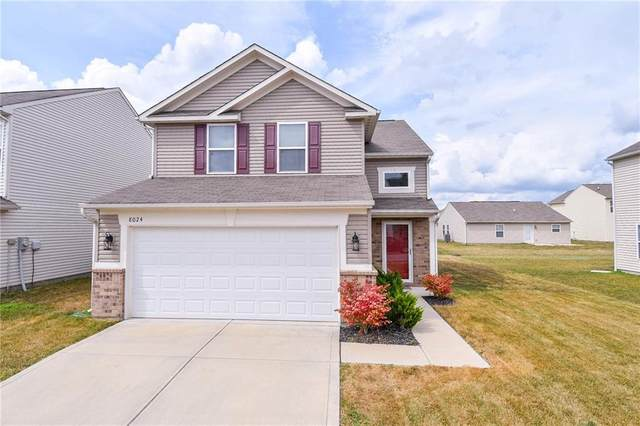 8024 Bach Drive, Indianapolis, IN 46239 (MLS #21808213) :: The Evelo Team
