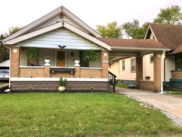 1451 N Colorado Avenue, Indianapolis, IN 46201 (MLS #21808234) :: The Indy Property Source