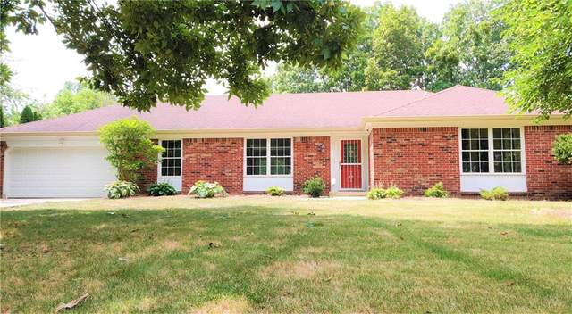 7254 Tottenham Drive, Indianapolis, IN 46250 (MLS #21808238) :: The Evelo Team