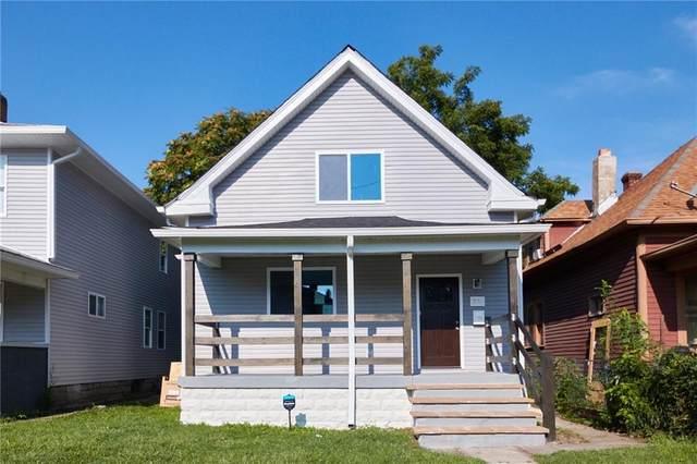 330 N Rural Street, Indianapolis, IN 46201 (MLS #21808396) :: JM Realty Associates, Inc.