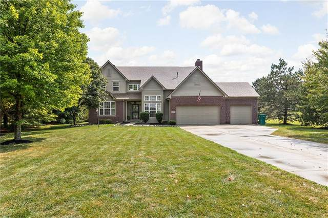 8517 W 96th Street, Zionsville, IN 46077 (MLS #21808409) :: Mike Price Realty Team - RE/MAX Centerstone