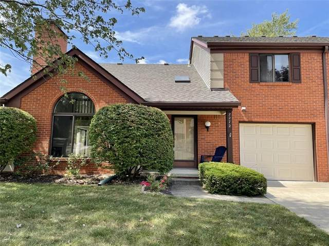 2272 Golden Oaks N, Indianapolis, IN 46260 (MLS #21808488) :: Mike Price Realty Team - RE/MAX Centerstone