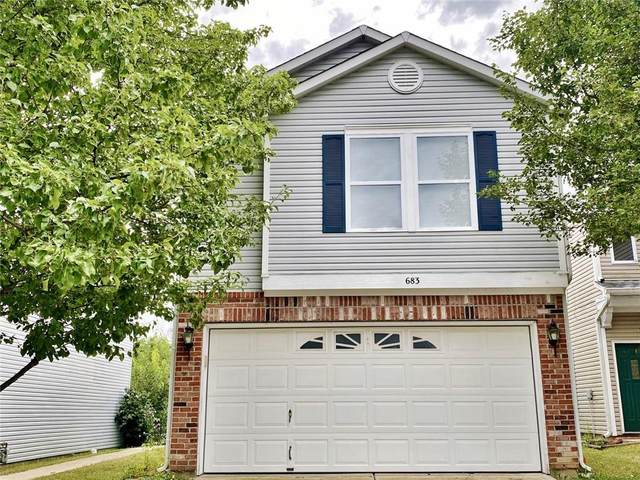 683 Fern Street, Greenfield, IN 46140 (MLS #21808505) :: The Indy Property Source