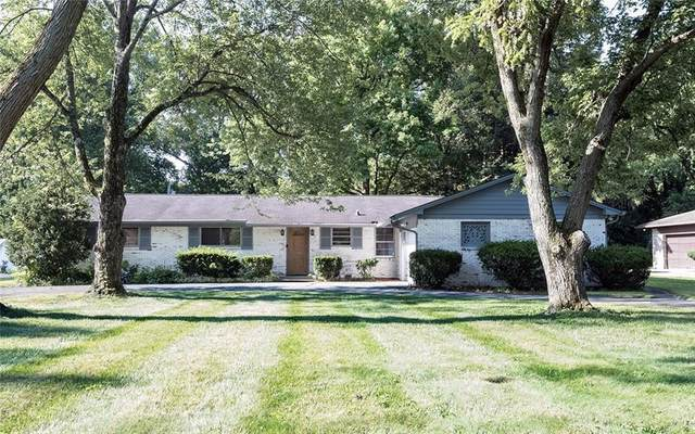 573 W 72nd Street, Indianapolis, IN 46260 (MLS #21808620) :: Pennington Realty Team