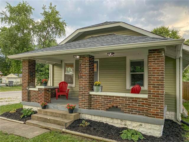2803 S Delaware Street, Indianapolis, IN 46225 (MLS #21808707) :: Mike Price Realty Team - RE/MAX Centerstone