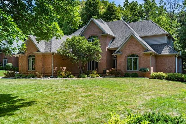 3855 Eagle Trace Drive, Greenwood, IN 46143 (MLS #21808712) :: Richwine Elite Group