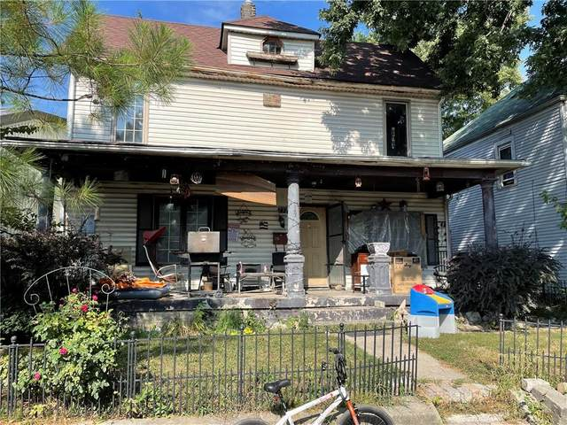 136 Neal Avenue, Indianapolis, IN 46222 (MLS #21808762) :: Pennington Realty Team