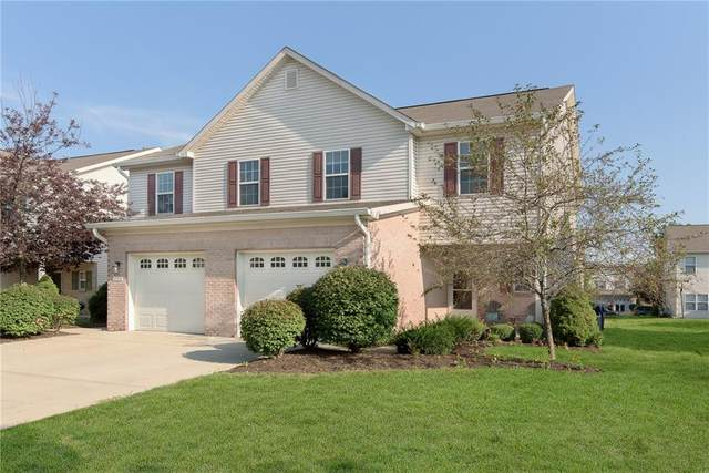 10360 Bronze Drive, Noblesville, IN 46060 (MLS #21808856) :: The Evelo Team