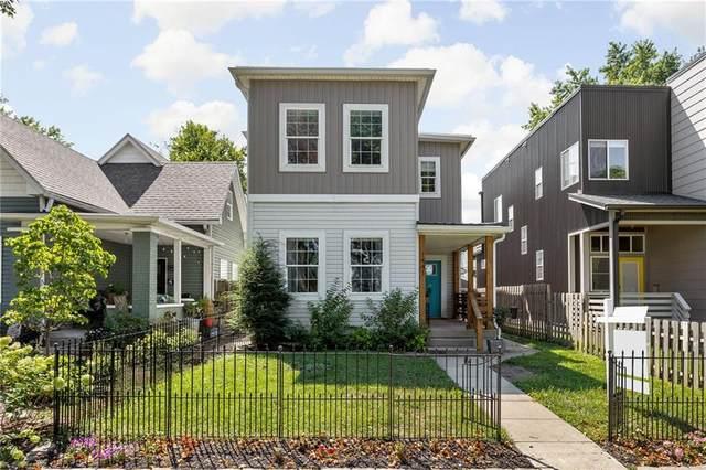 1441 Fletcher Avenue, Indianapolis, IN 46203 (MLS #21808861) :: JM Realty Associates, Inc.
