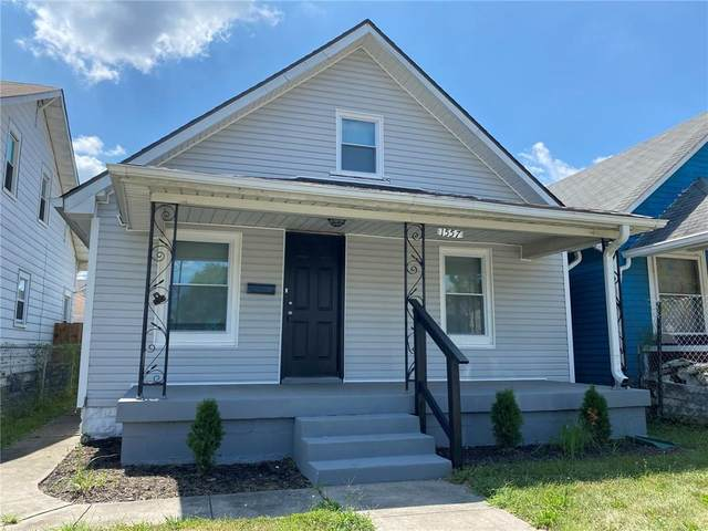 1557 Lawton Avenue, Indianapolis, IN 46203 (MLS #21809012) :: Mike Price Realty Team - RE/MAX Centerstone