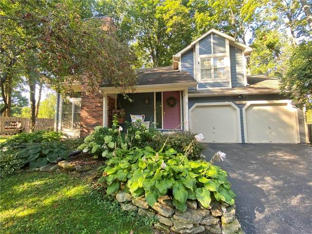 9656 Geist Woods Trace, Fishers, IN 46256 (MLS #21809106) :: Mike Price Realty Team - RE/MAX Centerstone