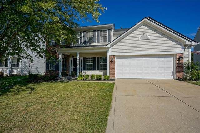 12719 Touchdown Drive, Fishers, IN 46037 (MLS #21809335) :: Richwine Elite Group