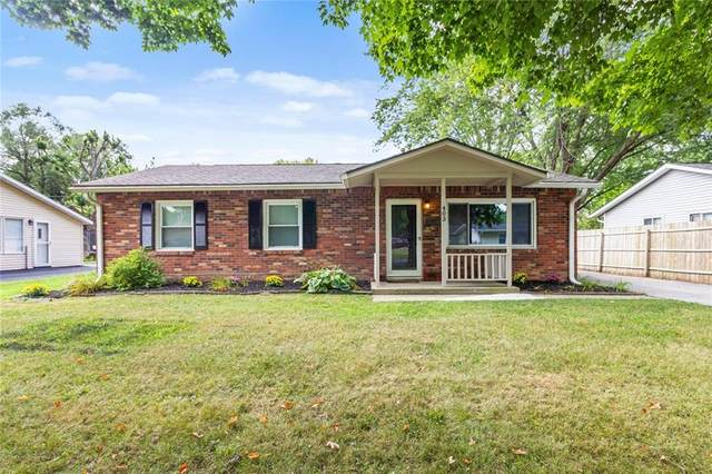 403 W William Drive, Brownsburg, IN 46112 (MLS #21809633) :: Mike Price Realty Team - RE/MAX Centerstone