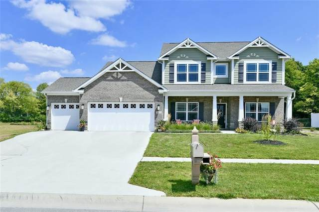 2872 Halfaker Way, Greenwood, IN 46143 (MLS #21809654) :: Ferris Property Group