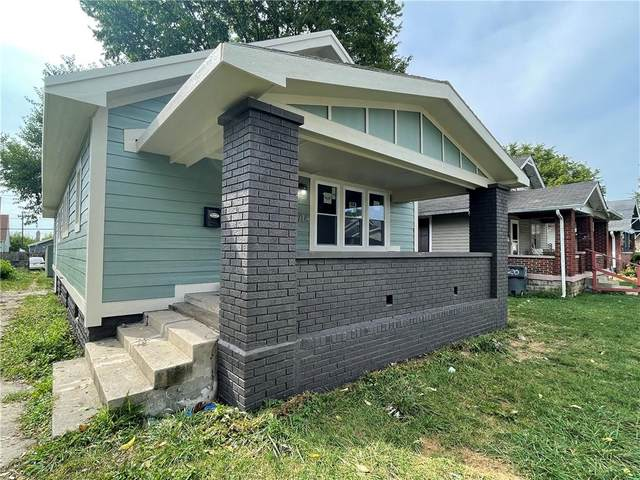 714 N Bradley, Indianapolis, IN 46201 (MLS #21809706) :: The Indy Property Source