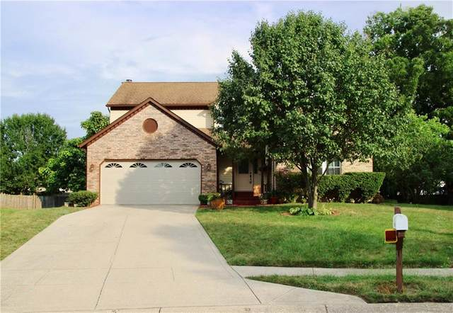 5907 Bowie Lane, Indianapolis, IN 46254 (MLS #21809803) :: Mike Price Realty Team - RE/MAX Centerstone