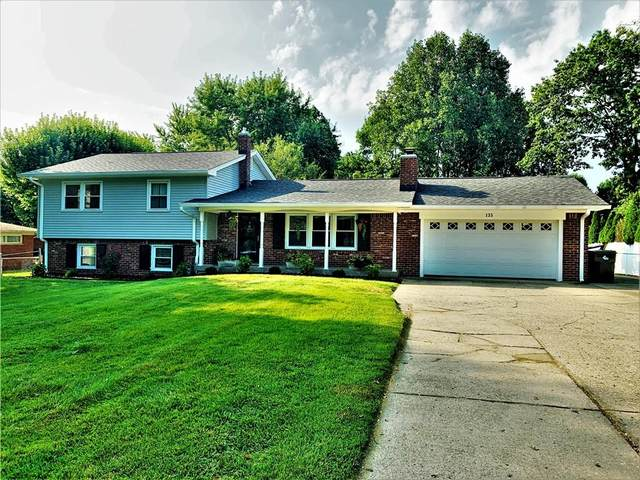 135 E Waterbury Road, Indianapolis, IN 46227 (MLS #21809817) :: The Indy Property Source