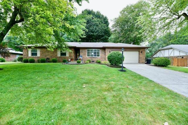 4255 Redman Drive, Greenwood, IN 46142 (MLS #21809967) :: Mike Price Realty Team - RE/MAX Centerstone