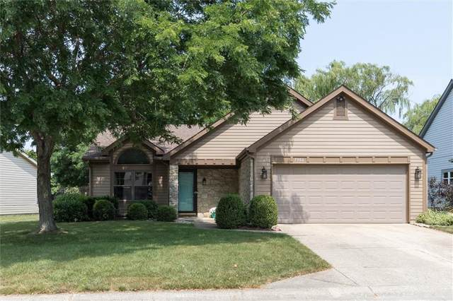 7906 Stonebranch S Drive, Indianapolis, IN 46256 (MLS #21810014) :: Mike Price Realty Team - RE/MAX Centerstone