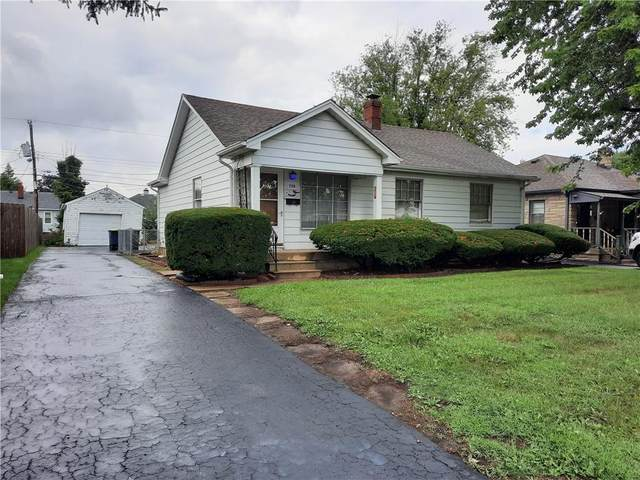 250 N 13th Avenue, Beech Grove, IN 46107 (MLS #21810093) :: Mike Price Realty Team - RE/MAX Centerstone