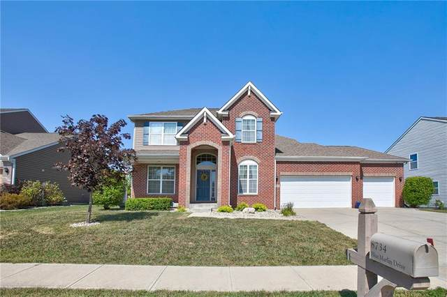 8734 Blue Marlin Drive, Indianapolis, IN 46239 (MLS #21810321) :: Ferris Property Group