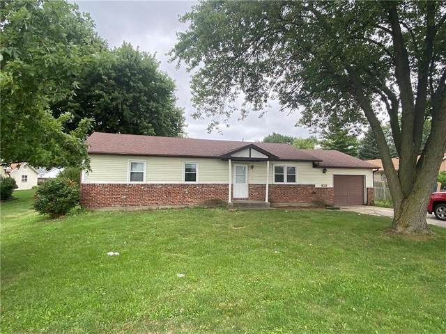 1439 S Girls School Road, Indianapolis, IN 46241 (MLS #21810403) :: Mike Price Realty Team - RE/MAX Centerstone