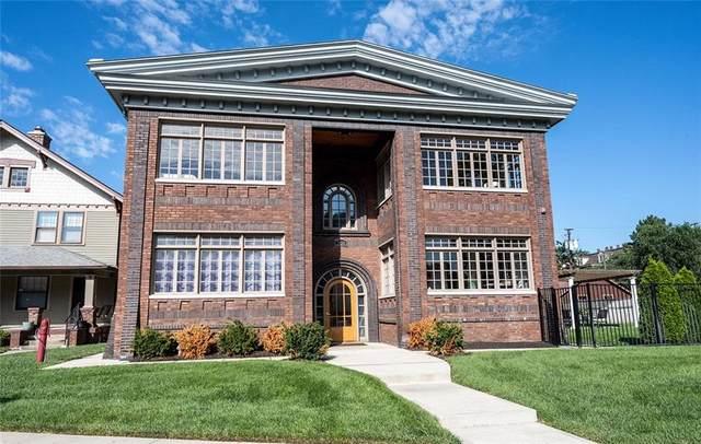 3034 N Pennsylvania Street #1, Indianapolis, IN 46205 (MLS #21810443) :: JM Realty Associates, Inc.