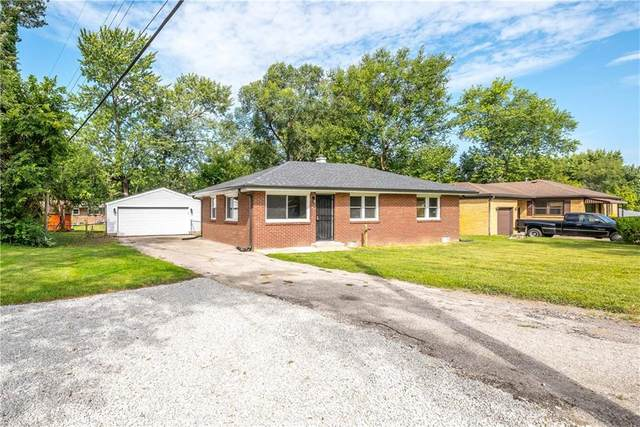 1108 Farley Drive, Indianapolis, IN 46214 (MLS #21810513) :: Richwine Elite Group