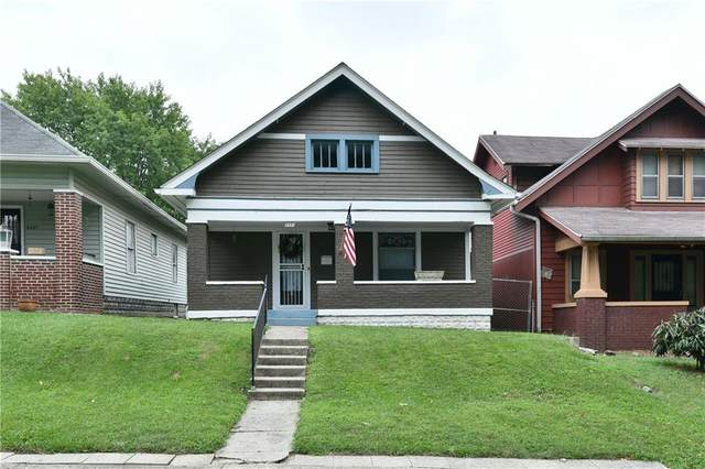 2421 E 16 Street, Indianapolis, IN 46201 (MLS #21810546) :: Mike Price Realty Team - RE/MAX Centerstone