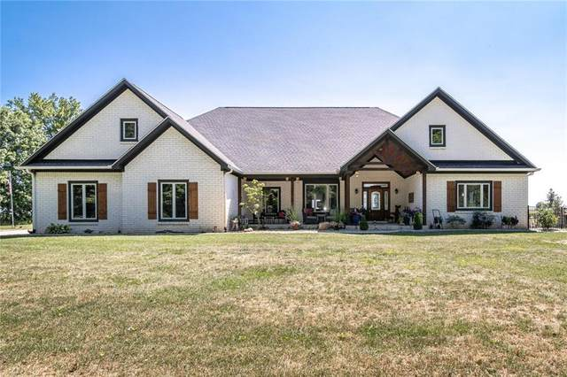 3743 E County Road 1000 N, Pittsboro, IN 46167 (MLS #21810646) :: Mike Price Realty Team - RE/MAX Centerstone