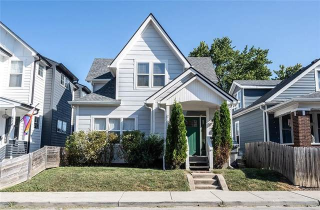 518 Terrace Avenue, Indianapolis, IN 46203 (MLS #21810649) :: The Evelo Team