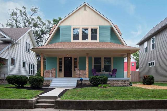 827 Eastern Avenue, Indianapolis, IN 46201 (MLS #21810664) :: The Indy Property Source