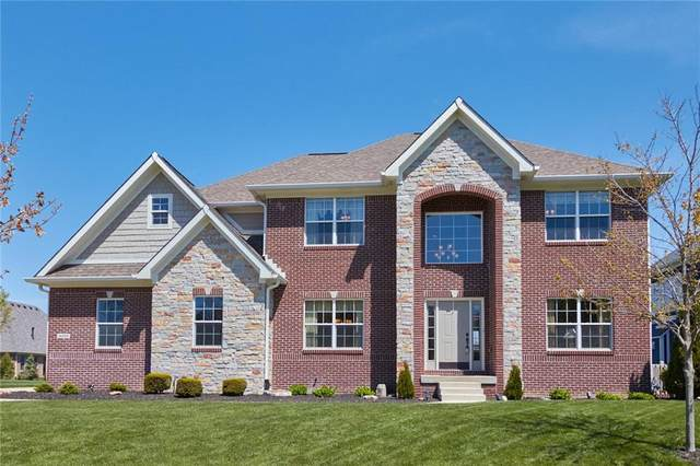4398 W Lookout Pass, New Palestine, IN 46163 (MLS #21810677) :: The Indy Property Source