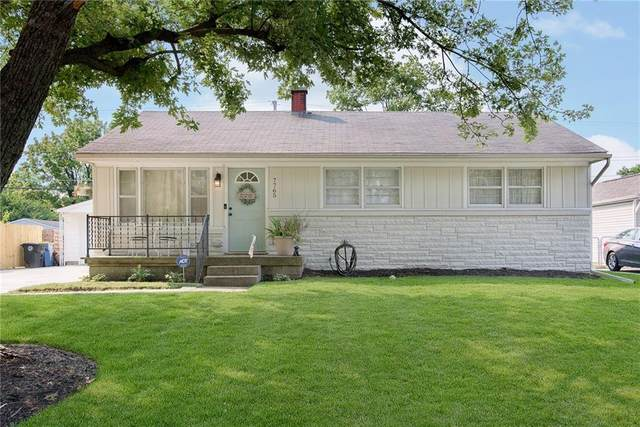 7765 E 49th Street, Indianapolis, IN 46226 (MLS #21810745) :: Mike Price Realty Team - RE/MAX Centerstone