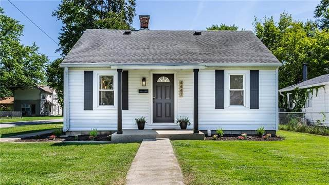 4447 Kingsley Drive, Indianapolis, IN 46205 (MLS #21810751) :: The Evelo Team