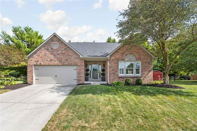 12363 Ensley Drive, Fishers, IN 46038 (MLS #21810806) :: Mike Price Realty Team - RE/MAX Centerstone