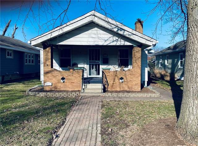 5130 W 14TH Street, Speedway, IN 46224 (MLS #21810807) :: Mike Price Realty Team - RE/MAX Centerstone