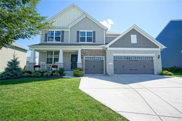 14587 Sherwood Forest Way, Fishers, IN 46037 (MLS #21810829) :: Mike Price Realty Team - RE/MAX Centerstone