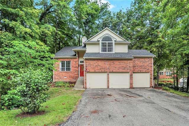 9680 Geist Woods Court, Indianapolis, IN 46256 (MLS #21810896) :: Mike Price Realty Team - RE/MAX Centerstone