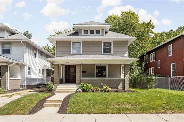 4043 Ruckle Street, Indianapolis, IN 46205 (MLS #21811012) :: The Evelo Team