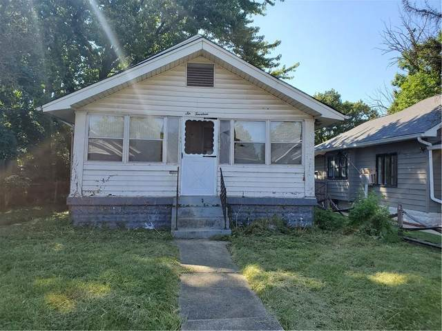 614 N Linwood Avenue, Indianapolis, IN 46201 (MLS #21811126) :: The Evelo Team