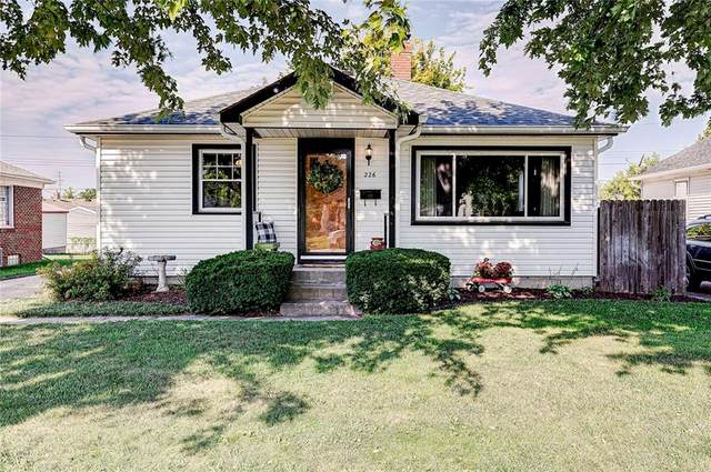 226 N 14th Avenue, Beech Grove, IN 46107 (MLS #21811154) :: Mike Price Realty Team - RE/MAX Centerstone