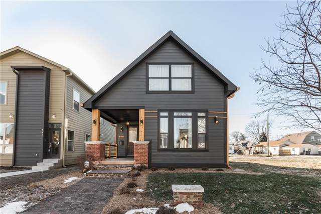 741 Parkway Avenue, Indianapolis, IN 46203 (MLS #21811170) :: The Evelo Team
