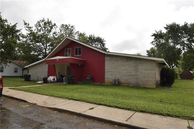 1117 W Fifth Street, Greenfield, IN 46140 (MLS #21811172) :: The Indy Property Source