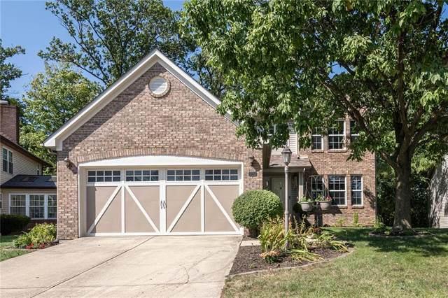 861 Pioneer Woods Drive, Indianapolis, IN 46224 (MLS #21811420) :: Pennington Realty Team